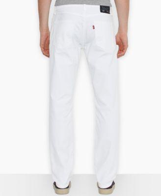 Levis slim fit white jeans
