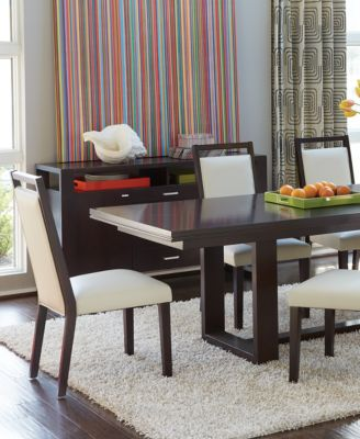 Belaire White  Piece Dining Room Furniture Set