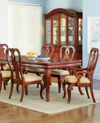 Bordeaux Louis PhilippeStyle Piece Dining Room Furniture Set - Macys dining room sets