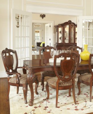 Royal Manor Dining Room Furniture 7 Piece Set