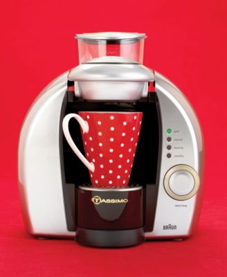 Coffee Maker Braun Tassimo : Hot Beverage Maker from Braun Tassimo
