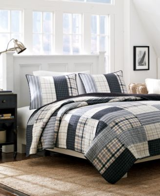CLOSEOUT! Nautica Home Longview Standard Sham - Quilts ... : chatham quilt by nautica - Adamdwight.com