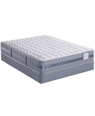Serta Perfect Sleeper Elite Peaceful Bay Top Plush Queen Split Mattress Set