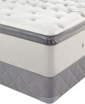 Sealy Posturepedic Bay Lane Euro Pillowtop Cushion Firm