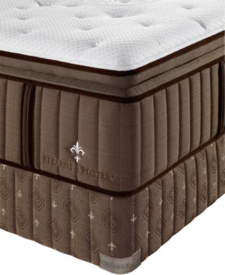 stearns u0026 foster estate lux warrington euro pillowtop luxury plush california king mattress set - Stearns And Foster Mattress