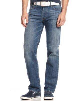 Armani Jeans J21 Regular Fit Light Wash Jeans