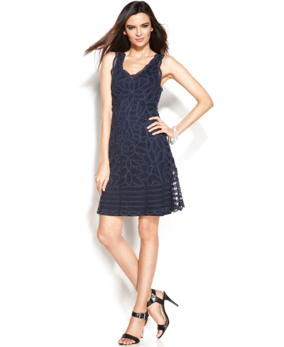 INC International Concepts Beaded Halter Neck Sheath Dress   Dresses   Women