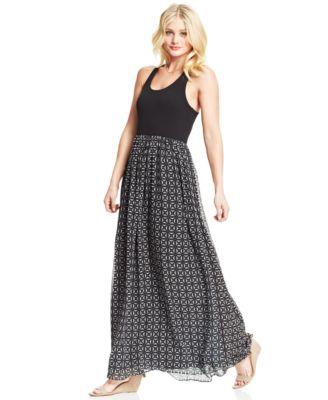 American rag lace maxi dress