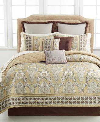 carrington 10 piece california king comforter set