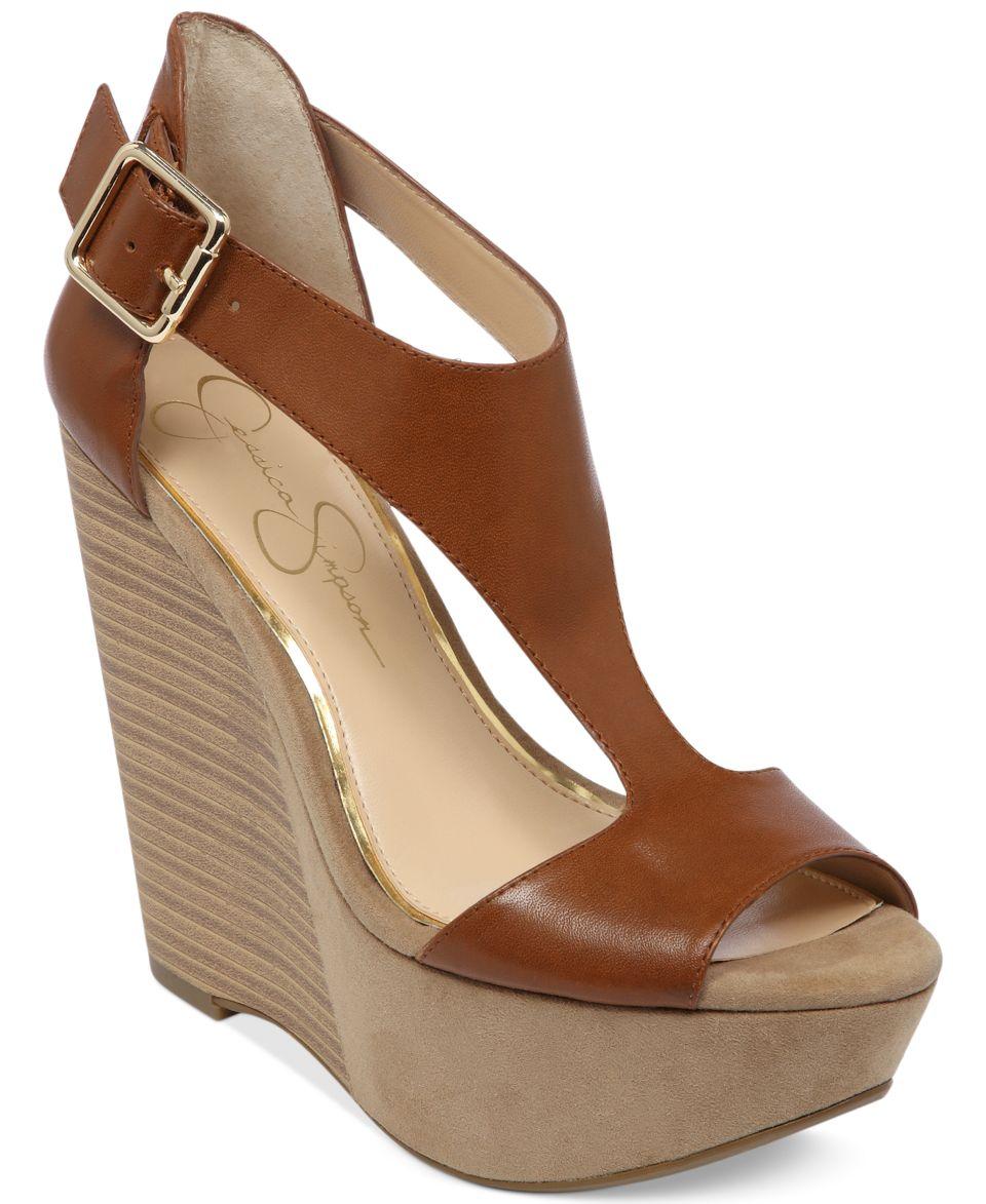 c29853857f1 Steve Madden Womens Wanting Platform Wedge Sandals Shoes on PopScreen