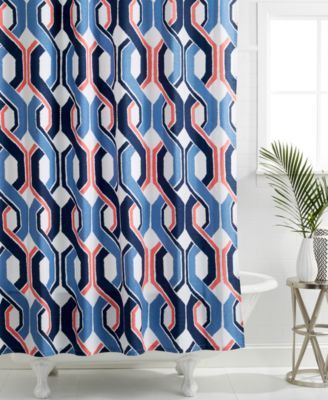 Trina Turk Coastline Ikat Shower Curtain