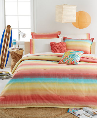 Teen Vogue Electric Beach Comforter Sets Bed In A Bag