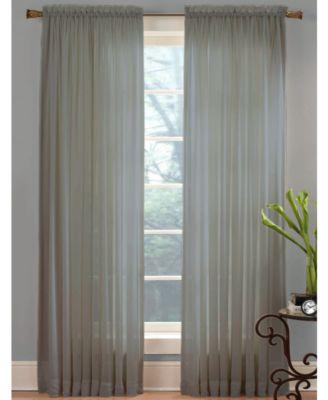buy window sheer curtains & panels - macy's