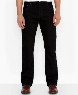 Levis 527 black bootcut jeans
