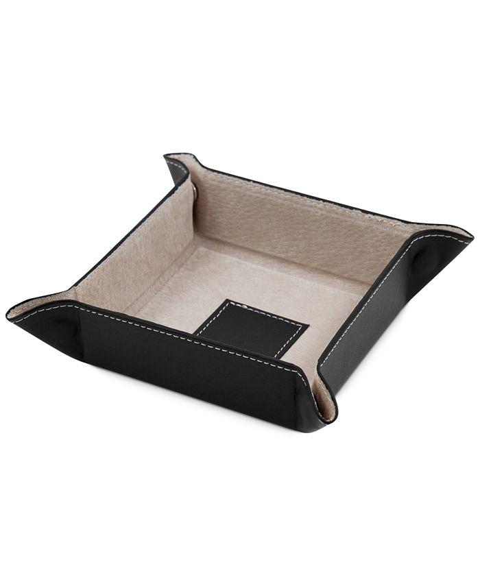 Bey-Berk - Snap Leather Valet Tray