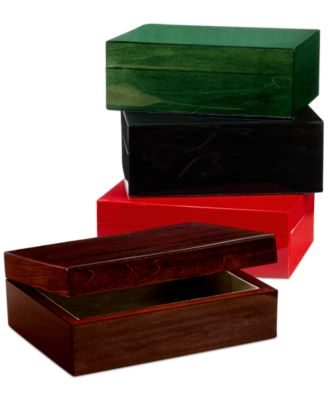 CLOSEOUT Tizo Piano Finish Wood Jewelry Box Collections For The