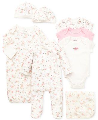 Baby Girls Vintage Rose Blanket