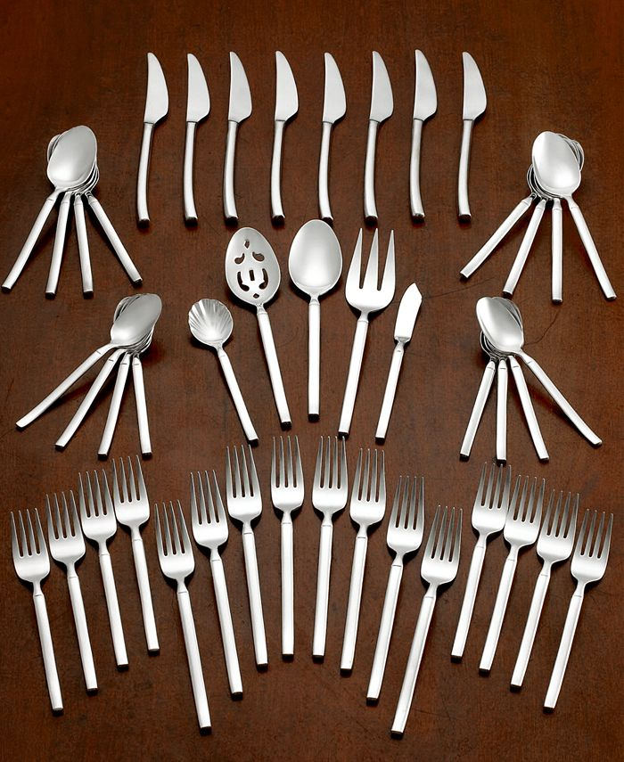 J.A. Henckels - TWIN® Brand Opus 18/10 Stainless Steel 45-Pc. Flatware Set, Service for 8