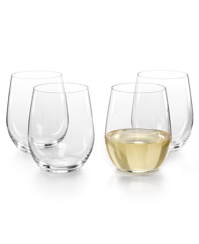 Riedel - O Buy 3 Get 4 Viognier and Chardonnay Stemless Wine Glasses
