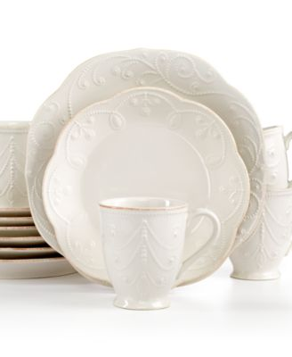 Lenox French Perle White 12-Pc. Set, Service for 4