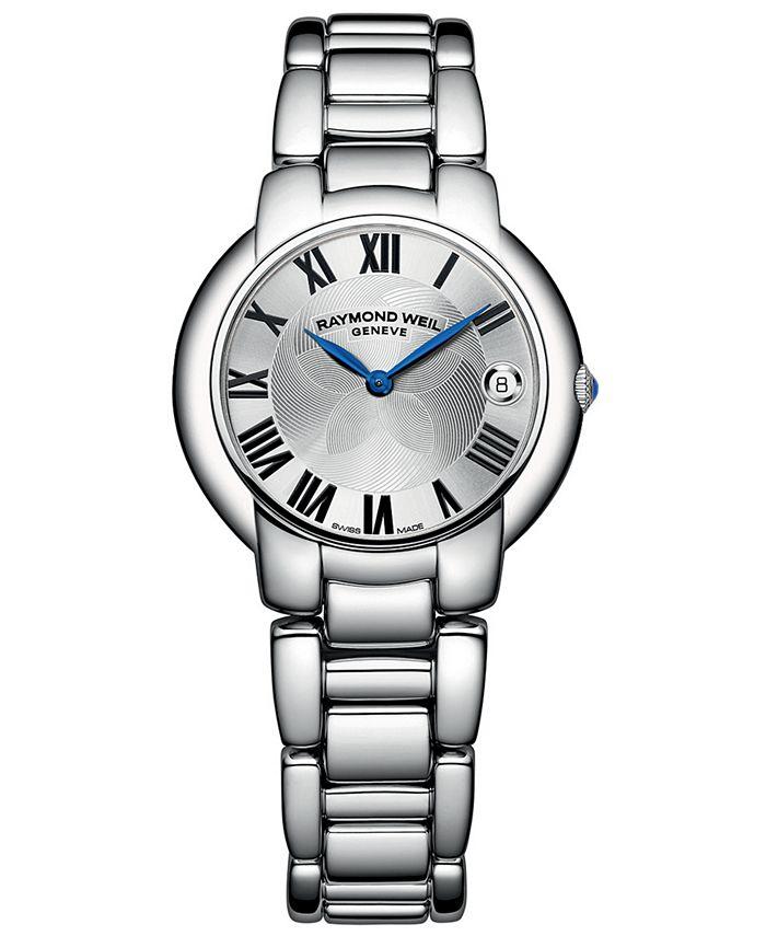 Raymond Weil - Women's Swiss Jasmine Stainless Steel Bracelet Watch 35mm 5235-ST-01659