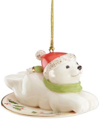 lenox 40th anniversary polar express ornament
