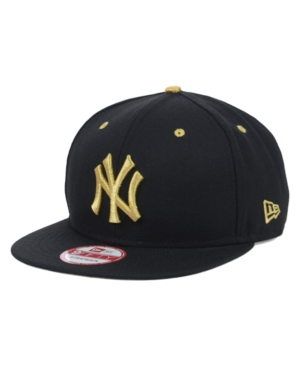 New Era New York Yankees Mlb Night Snake 9FIFTY Strapback Cap