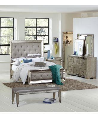 Ailey Piece Queen Bedroom Set With Chest Furniture Macy S