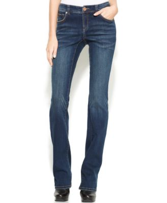 INC International Concepts Narrow Bootcut Jeans, Percy Wash ...