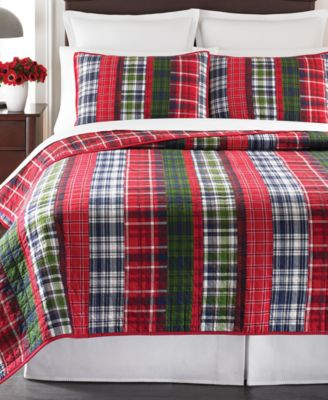 CLOSEOUT! Martha Stewart Collection Catskill Plaid Standard Sham
