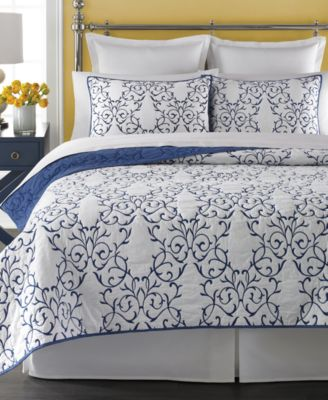 Martha Stewart Collection Chateau King Quilt