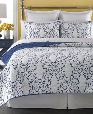 Martha Stewart Collection Chateau Full/Queen Quilt Bedding