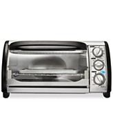 Bella 14326 3-Dial 1200 Watts Toaster Oven with 2 Position Grill Rack