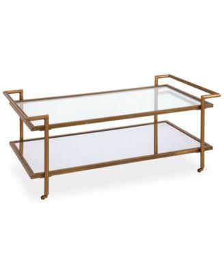 vitale rectangular coffee table - furniture - macy's