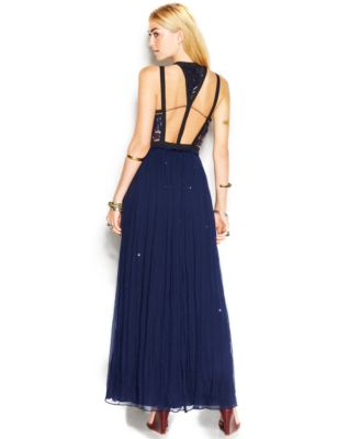 Free People Golden Chalice Sequin Studded Maxi Dress - Dresses ...