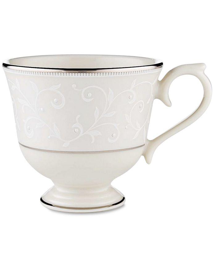 "Lenox - ""Pearl Innocence"" Tea Cup"