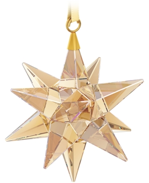 Swarovski Golden Shadow Star Christmas Ornament