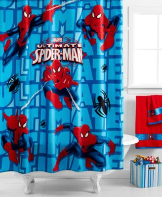 Marvel Spiderman Shower Curtain