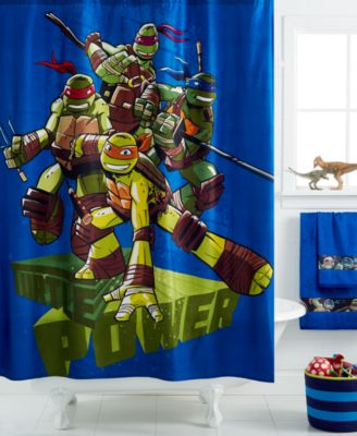 disney teenage mutant ninja turtles shower curtain - shower