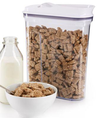 oxo good grips pop 45quart cereal dispenser