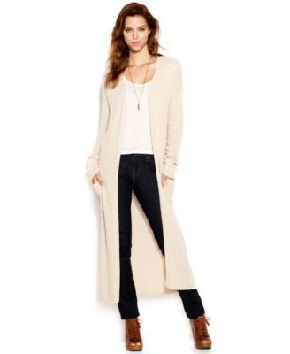 Lucky Brand Stella Long-Sleeve Duster Cardigan - Sweaters - Women ...