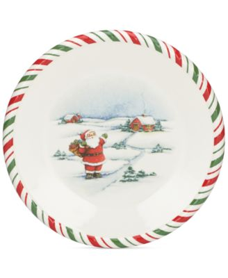 Kathy Ireland Once Upon A Christmas Salad Plate  sc 1 st  Macyu0027s & Kathy Ireland Once Upon A Christmas Salad Plate - Serveware - Dining ...