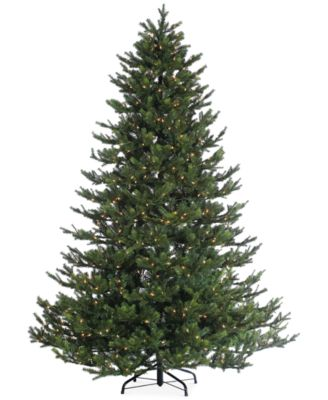 sterling 75 pre lit natural cut rockford pine christmas tree - Sterling Christmas Trees