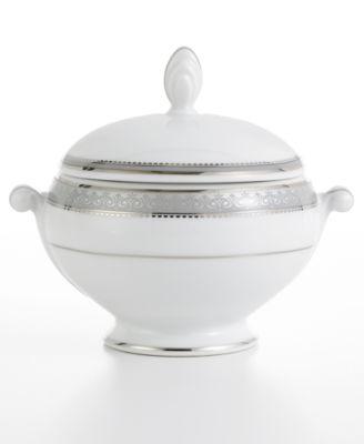 Platinum Crown Sugar Bowl