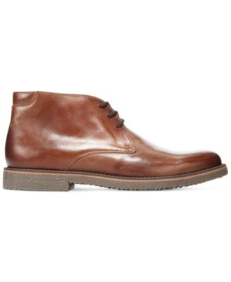 Alfani Lancer Leather Chukka Boots - Shoes - Men - Macy's