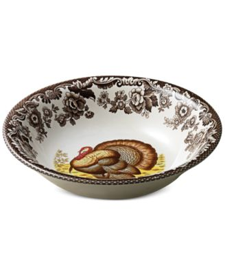 Spode Woodland Turkey Ascot Cereal Bowl