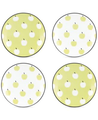 kate spade new york Wickford Orchard Set of 4 Tidbit Plates