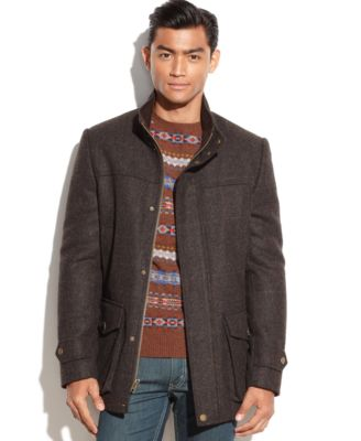 Vince Camuto Shetland Wool Car Coat - Coats & Jackets - Men - Macy's