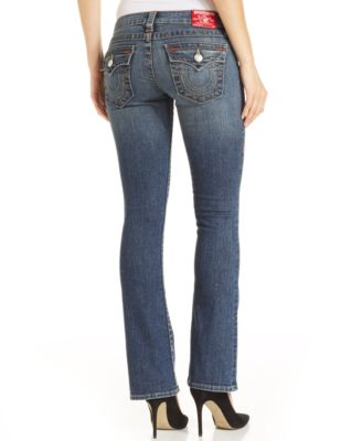 True Religion Becky Petite Bootcut Jeans Hillsboro Wash - Jeans