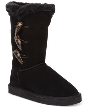 Style&co. Bella Toggle Faux Fur Cold Weather Boots Womens Shoes